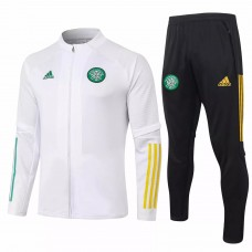 Celtic Technical Training Soccer Tracksuit White 2020 2021