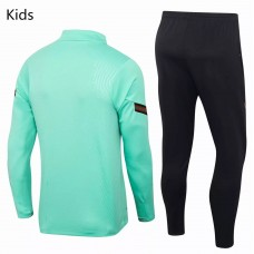 Portugal Team Green Tech Training Soccer Tracksuit Kids 2020 2021