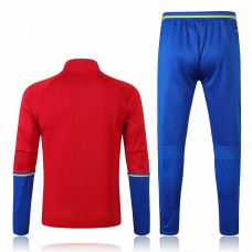 Spain Training Technical Soccer Tracksuit Euro 2016 Red