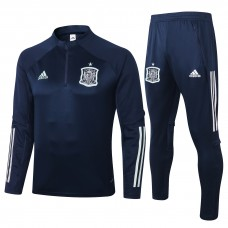 Spain Soccer Training Technical Navy Tracksuit 2020